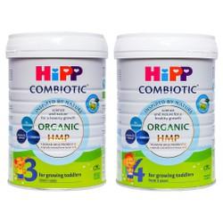 [CHÍNH HÃNG] Sữa Bột HiPP Organic 3/4 - Hộp 800g