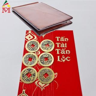 Bộ 6 Đồng Tiền Xu Cổ Bỏ Ví Chiêu Tài Lộc - DTXC001 2