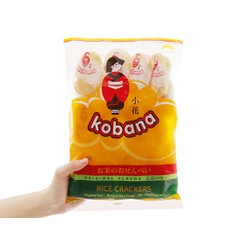 Túi lớn bánh Gạo Kobana 150g - 3 vị ngẫu nhiên (20 cái/1 túi - Date 9/2021)