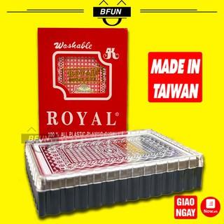 Bài Tây Nhựa Cao Cấp - Bộ Bài 52 Lá Đẹp Made In Đài Loan - Đồ Chơi Trẻ Em BFUN - ad7prVcFq8 thumbnail