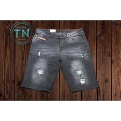 Quần short jeans nam co giãn form trẻ trung cao cấp