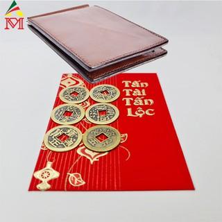 Bộ 6 Đồng Tiền Xu Cổ Bỏ Ví Chiêu Tài Lộc - DTXC001 1