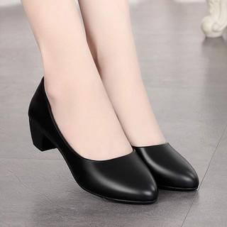 Gìay cao gót nữ 3cm dành cho phái đẹp - giày công sở 3cm thumbnail