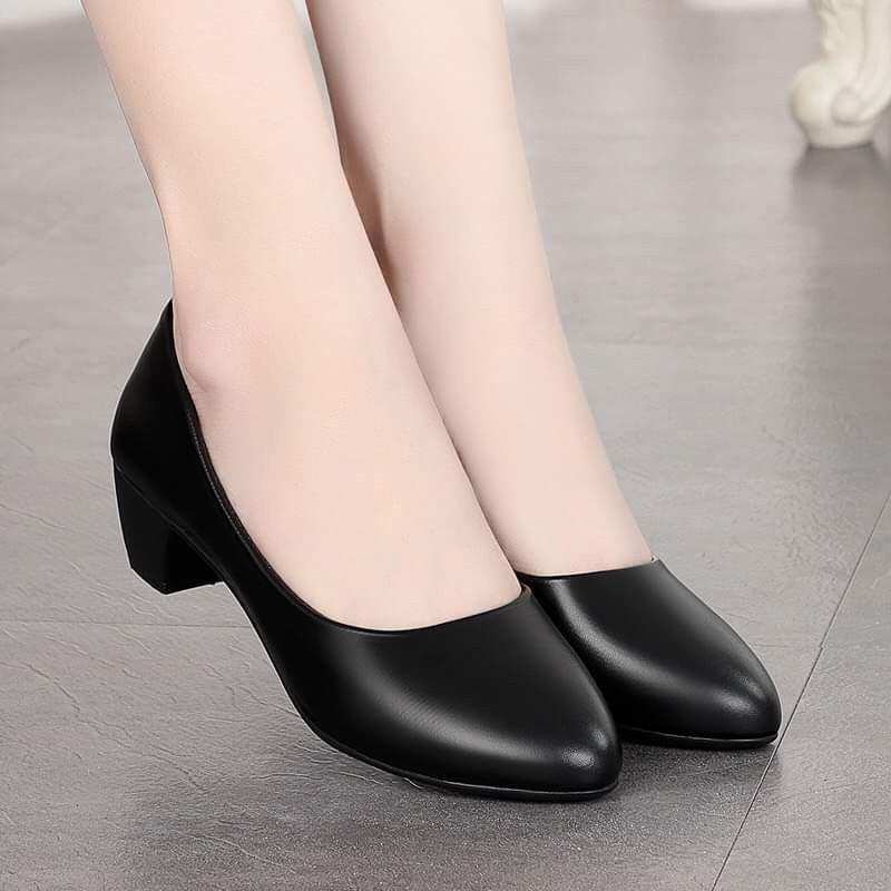 Gìay cao gót nữ 3cm dành cho phái đẹp - giày công sở 3cm 1