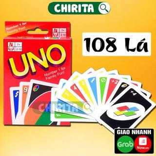 Bài Uno LOẠI TỐT 108 Thẻ Bài Đồ Chơi Trẻ Em CHIRITA - qVyKwhZAdR thumbnail