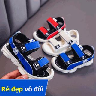 Sandal Bé Trai và bé gái Quai Hậu Mũi Cao Chống Trơn Chống Vấp Cho Bé Từ 0 - 4 Tuổi - sandal1 thumbnail