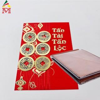 Bộ 6 Đồng Tiền Xu Cổ Bỏ Ví Chiêu Tài Lộc - DTXC001 3