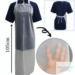 Tạp dề yếm nhựa PVC dành cho nam nữ pha chế chống thấm nước tuyệt đối