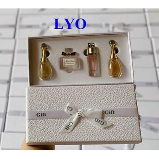 Bộ set Nước Hoa Gift Set Mini Dior 4 chai 5ml - Bộ set Nước Hoa Gift Set Mini Dior 4 chai 5ml thumbnail