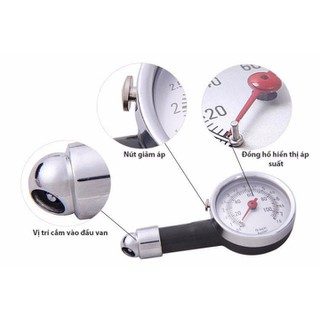 Thiết bị đo áp suất lốp xe - tgdc405 thumbnail
