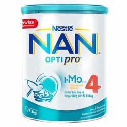Sữa bột Nan 4 1,7kg - cam kết chính hãng