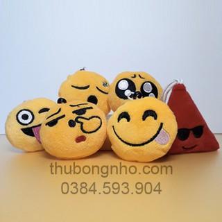 gấu bông Móc khóa mặt cười - 733526009 thumbnail