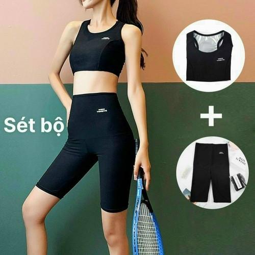 Bộ tập gym tan mỡ, bộ quần áo sinh nhiệt