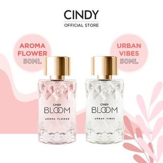 Combo nước hoa Cindy Aroma Flower 50ml + nước hoa Cindy Bloom Urban Vibes 50ml - CB02SCC000016 thumbnail