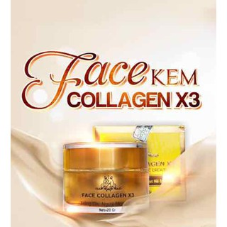 Kem face collagen x3 20gr - 123456a thumbnail