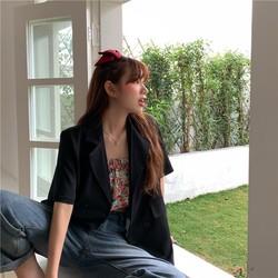 Áo Blazer ngắn tay thời trang Hàn Quốc
