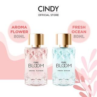 Combo nước hoa Cindy Aroma Flower 50ml + nước hoa Cindy Bloom Fresh Ocean 50ml - CB02SCC000014 thumbnail