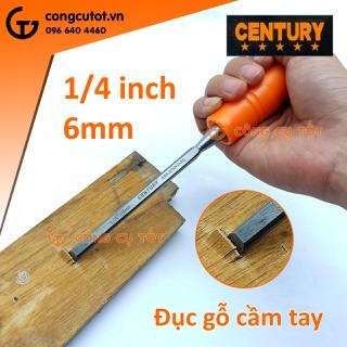 Đục gỗ mũi dẹp 6mm Century - 24003972 thumbnail