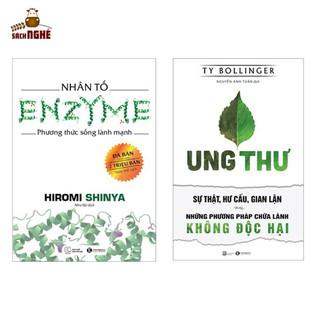 Combo 2 Cuốn Sách Cực Hay Cho Bạn Sống Khỏe Nhân Tố Enzyme - Phương Thức Sống Lành Mạnh (Tái Bản 2018) + Ung Thư - Sự Thật, Hư Cấu, Gian Lận Và Những Phương Pháp Chữa Lành Không Độc Hại - THAIHA65 thumbnail