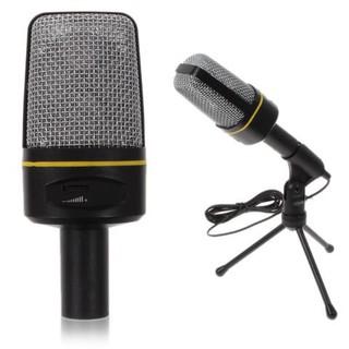 Micro để bàn thu âm chất lượng cao dùng cho máy tính ,laptop hô trợ học Online, chat videocall - V5497Y thumbnail