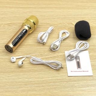 Micro C11 thu âm live stream loại cao cấp kèm tai phone - V5677Y thumbnail