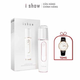 [TẶNG 1 ĐỒNG HỒ] Máy phun sương tạo ẩm mini cầm tay cao cấp Hàn Quốc chính hãng ISHOW - IS-PS thumbnail