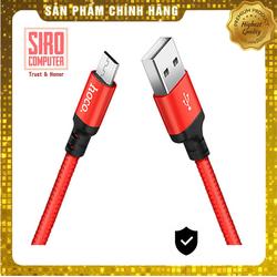 CÁP SẠC MICRO USB HOCO X14