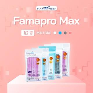 Combo 5 túi khẩu trang y tế cao cấp 4 lớp Famapro Max (10 cái Túi) - FMTCB5 thumbnail