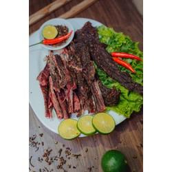 500g thịt lợn sấy khô - đặc sản vùng cao