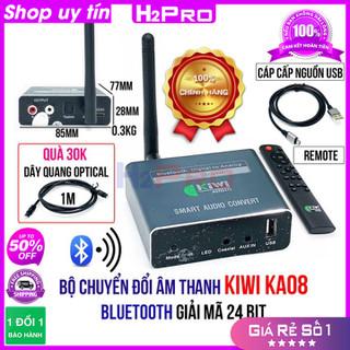 [RẺ VÔ ĐỊCH] Bộ chuyển đổi âm thanh Optical KIWI KA08 H2Pro Bluetooth cao cấp xuất âm thanh từ tivi ra loa có điều khiển-USB (tặng dây quang 30K) - H2WW761 thumbnail
