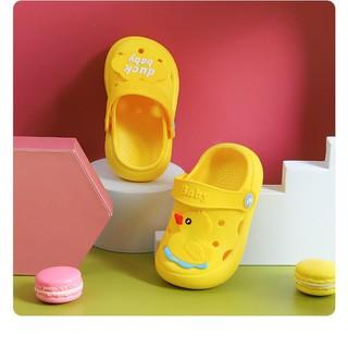 Dép sục Duck baby màu vàng dễ thương dành cho bé gái - duckorange thumbnail