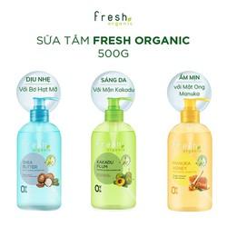 Sữa Tắm Hữu Cơ Dưỡng Da Fresh Organic 500g