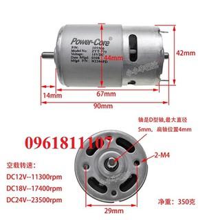 Motor 775 Power core 2 bạc đạn 22600 vòng - Motor 775 Power core 2 bạc đạn thumbnail
