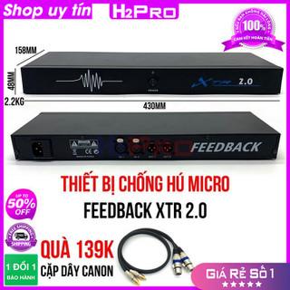 [RẺ VÔ ĐỊCH] Thiết Bị Chống Hú Micro Feedback XTR 2.0 H2Pro Chính hãng thiết bị Chống Hú Loại 2 micro ( tặng cặp dây canon 139K ) - H2WW472 thumbnail