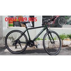 Xe đạp nội địa Nhật ROCK SPRING bánh 700C 3 dĩa 7 líp đề SHIMANO khung sườn nhôm xe 8kg