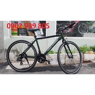 Xe đạp nội địa Nhật ROCK SPRING bánh 700C 3 dĩa 7 líp đề SHIMANO khung sườn nhôm xe 8kg - TOURINGREU thumbnail