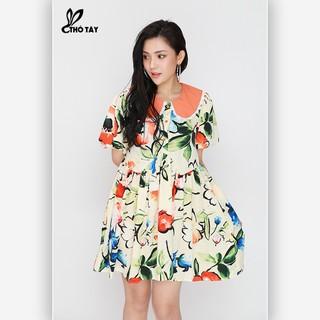 Đầm Suông Nữ Hoa Cổ Sen - THỎ TÂY D315B367 - D315B367 thumbnail