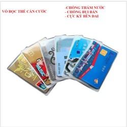 Sét 6 vỏ bọc, túi đựng  bảo vệ thẻ căn cước, ATM và các loại thẻ khác