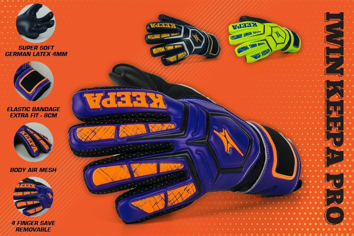 Găng tay thủ môn IWIN Keepa Pro GK 01 - gtgk1 5