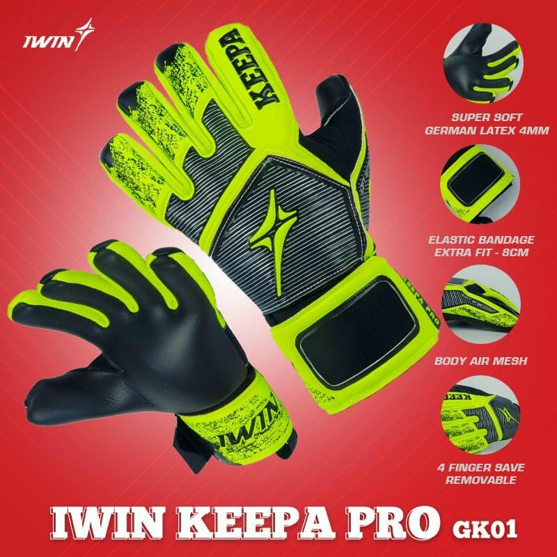 Găng tay thủ môn IWIN Keepa Pro GK 01 - gtgk1 2