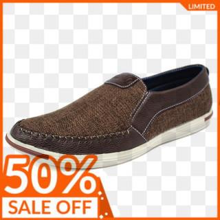 Giày lười nam vải bố cao cấp (VB04) - giày lười VB04 thumbnail