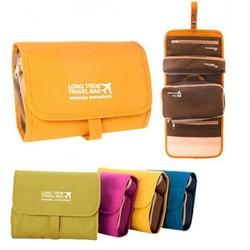 Túi mỹ phẩm có thể tháo rời lý tưởng để mang theo đồ vệ sinh cá nhân, mỹ phẩm và phụ kiện của bạn SHOP GIAO MÀU NGẪU NHIÊN 4 phần khác nhau để sắp xếp chúng Túi trên có khóa kéo 2 phần có thể tháo rời với