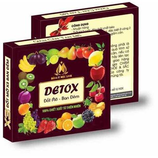 Detox tan mỡ ban đêm Mộc Linh - DT00 thumbnail