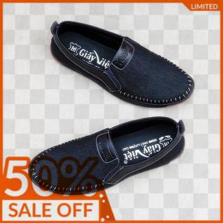 Giày lười nam giày mọi nam vải bố - giày lười nam VAIBO-XL11 thumbnail