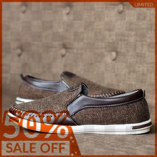 Giày lười nam giày mọi nam vải bố - VAYBO L04 thumbnail