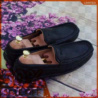 Giày Lười Nam PL Màu Đen - GL001 thumbnail