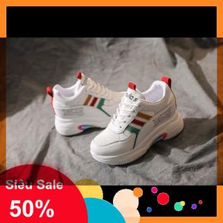 Giày bata độn đế phối màu chất xịn sò - sj2937 thumbnail