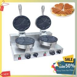 Máy làm các loại bánh tổ ong , Waffle Khuôn trái tim đôi