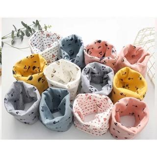 Khăn ống cotton cho bé siêu mềm giữ ấm cho bé - khanonggiuam thumbnail
