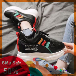 Giày bata độn đế phối màu chất xịn sò - dj2836 thumbnail